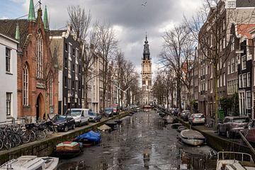 Grachten in Amsterdam van Jellie van Althuis