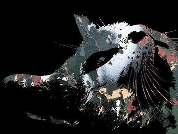 Katzenkunst: Tarnkatzen 1A