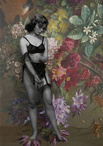 Blooming Muse I Georgius Jacobus Johannes van Os van Marit Kout