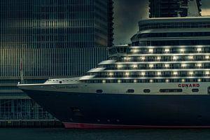 Queen Elizabeth cruise schip van