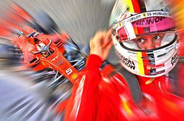Vettel #5 van Jean-Louis Glineur alias DeVerviers