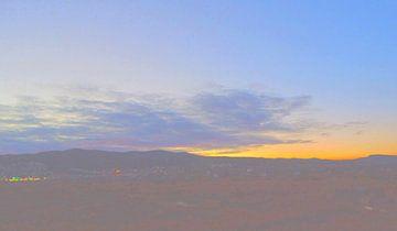 Sonnenuntergang 3 van Peter Norden