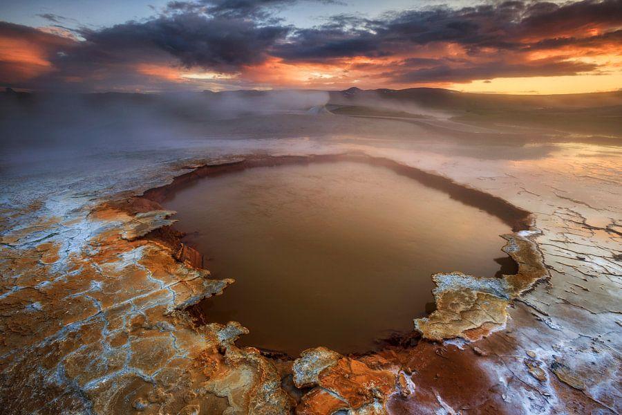 Hveravellir, IJsland van Sven Broeckx