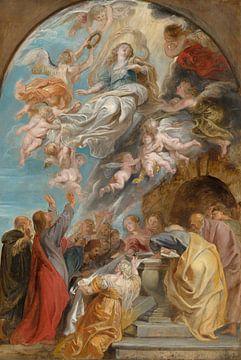 Peter Paul Rubens, 'Modello' voor de Hemelvaart van Maria
