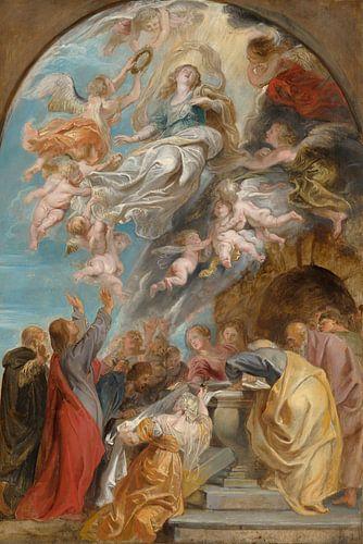 Peter Paul Rubens, 'Modello' voor de Hemelvaart van Maria van Meesterlijcke Meesters