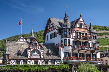 Historisches Hotel  Krone in Assmannshausen van Christian Müringer