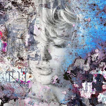 Blau Blond von Maaike Wycisk