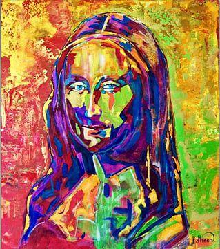 Mona Lisa - Die Mona Lisa von Kathleen Artist Fine Art