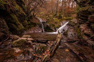 Watervallen Ninglinspo in de Ardennen van