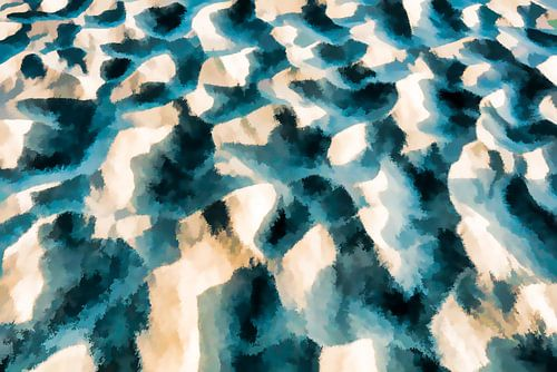 structuur van zand