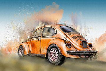 Alter VW Käfer von Harry Stok