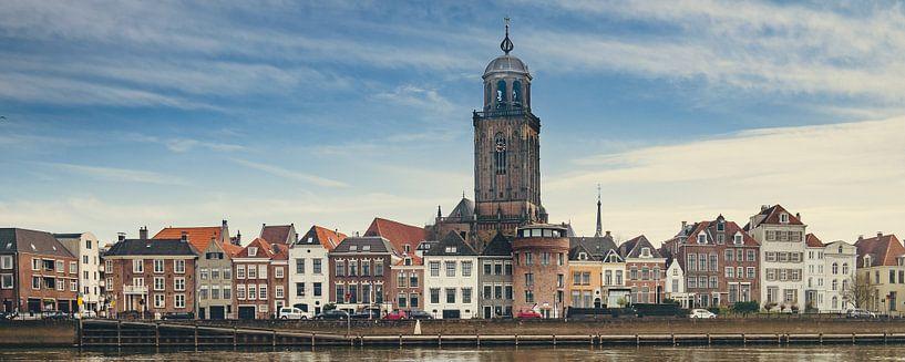Deventer - IJsselkade (2018) -2c (2.5x1 - panorama) van Rob van der Pijll