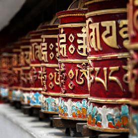 Tibetaanse gebedsmolen van Chihong