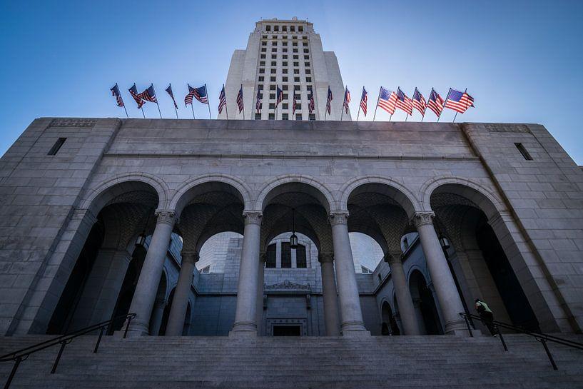 Los Angeles city hall van Ton Kool
