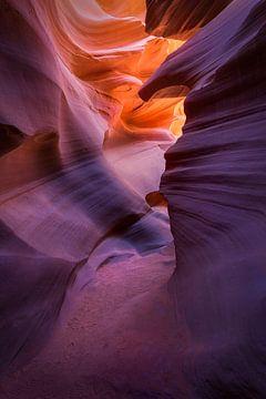 Pad door Antelope Canyon van Edwin Mooijaart