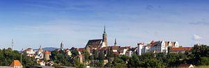 Ligne d'horizon de la vieille ville de Bautzen