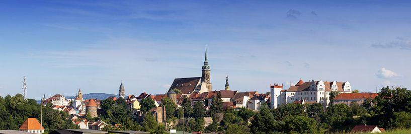 Ligne d'horizon de la vieille ville de Bautzen sur Frank Herrmann