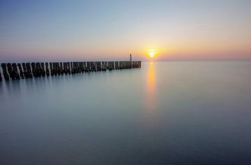 Ruhiges Meer von Ulbe Spaans