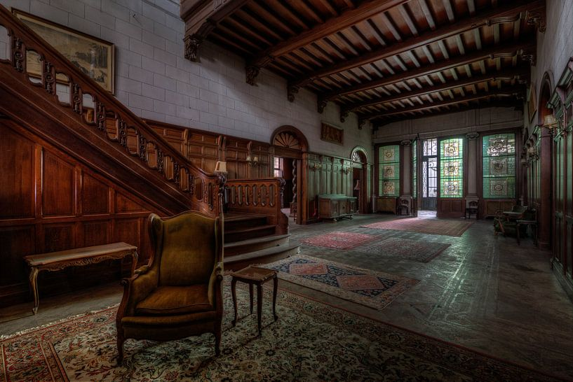 The Towns Mansion van Oscar Beins