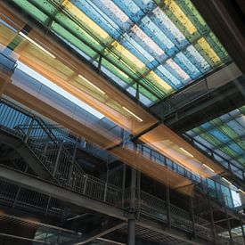 Plafond in het station van Oostende van Christophe Fruyt