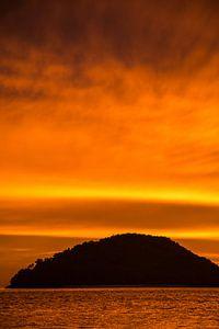 Langkawi zonsondergang van