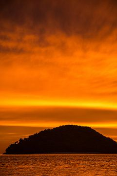 Langkawi zonsondergang van Annelies Martinot