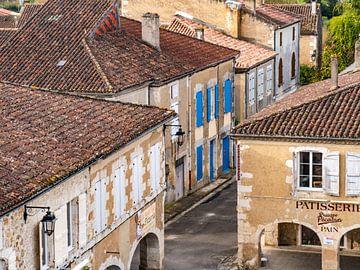 Typische französische Häuser in einem Dorf von Martijn Joosse
