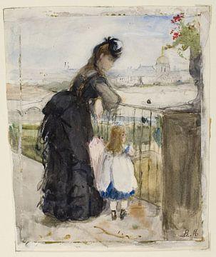 Auf dem Balkon, Berthe Morisot