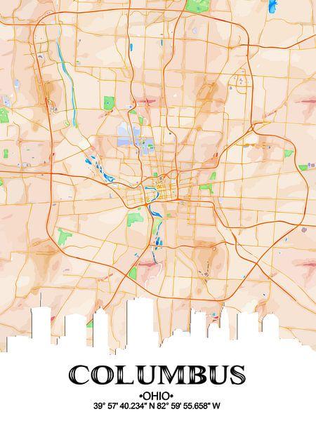 Columbus van Printed Artings