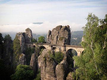 Le pont Bastei en Suisse saxonne sur iPics Photography