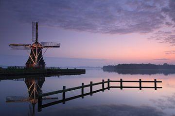 Tranquil windmill von Sander van der Werf