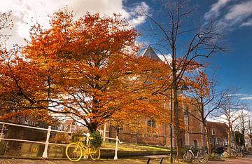 Herfst in Delft von Ilya Korzelius