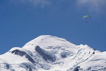 Top van de Mont Blanc van