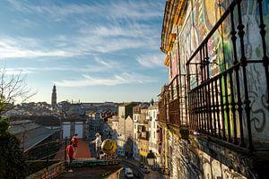 Uitzicht over Porto van Derrick Kazemier