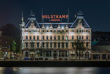 Die Hulstkamp Gebouw auf der Noordereiland in Rotterdam von MS Fotografie | Marc van der Stelt