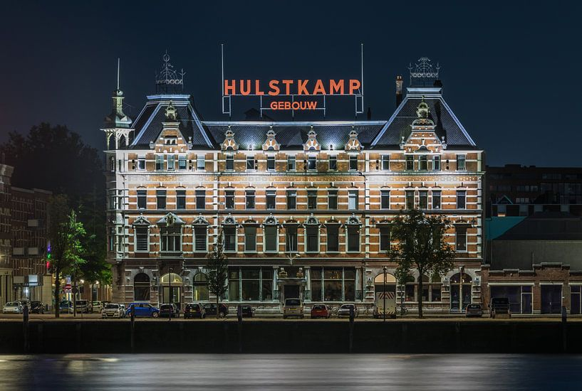 Het Hulstkamp Gebouw op het Noordereiland in Rotterdam van MS Fotografie | Marc van der Stelt