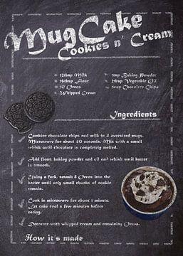 Rezept für Dessert - Becherkuchen von JayJay Artworks