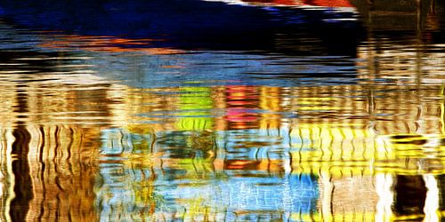 watercolors geel van