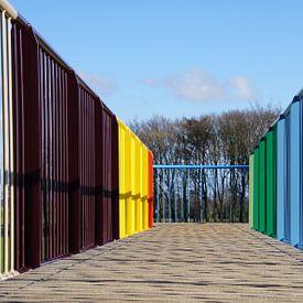 Coloured lines sur Montferland Fotografie