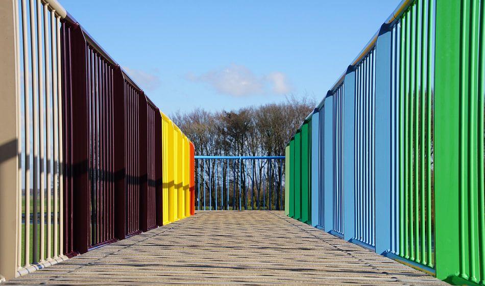 Coloured lines van Montferland Fotografie