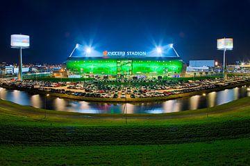 Kyocera Stadion, ADO Den Haag tijdens een wedstrijd van Anton de Zeeuw