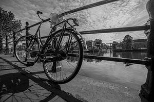 """Amstel"", Amsterdam (Zwart-wit)"