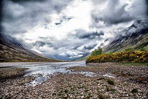 Loch Etive / Glen Etive (Highlands) Schotland van