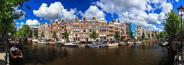 Prinsengracht Amsterdam panorama van Dennis van de Water