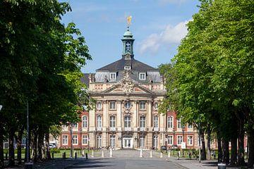 Fürstbischöfliches Schloss, Sitz der Westfälischen Wilhelms-Universität , Münster , Nordrhein-Westfa von Torsten Krüger