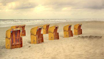 Strandstoelen van marleen brauers