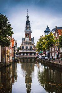 De Waag in Alkmaar in Nederland van