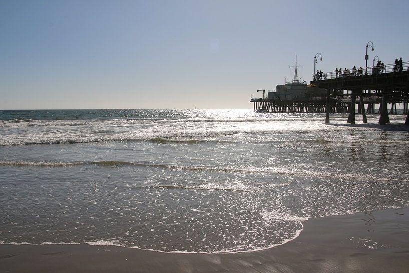 Pier von Santa Monica USA von Paul Franke