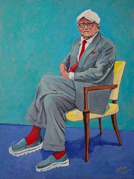 Das ist kein Hockney. Das ist Hockney! von Nop Briex