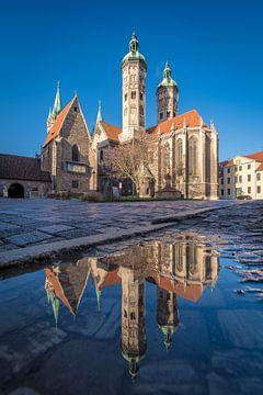 La cathédrale de Naumburg dans le miroir sur Martin Wasilewski